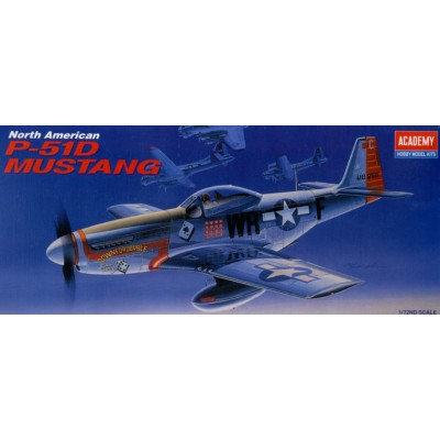 NORTH AMERICAN P-51 D MUSTANG 1/72 ACADEMY 12485
