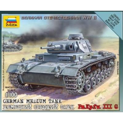 CARRO DE COMBATE SD.KFZ. 141 PANZER III Ausf. C 1/100
