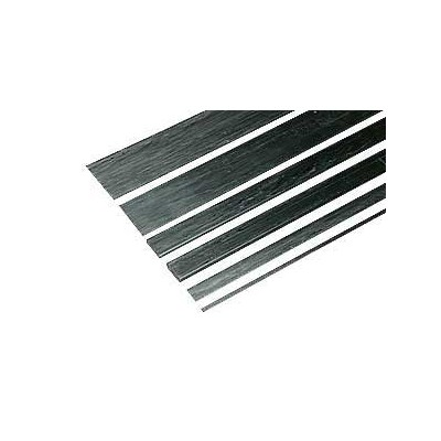 VARILLA RECTANGULAR CARBONO ( 0,8 x 1,5 x 1.000 mm)