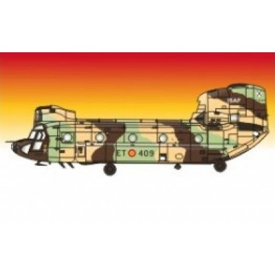 CALCAS CH-47 C/D CHINOOK 1/48 - Series Españolas SE3048