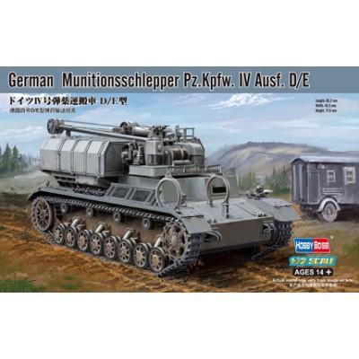 CARRO DE AMUNICIONAMIENTO Pz. Kpfw. IV Ausf. D/E 1/72