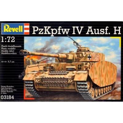 CARRO DE COMBATE SD.KFZ. 161 Ausf. H PANZER IV -1/72- Revell 03184