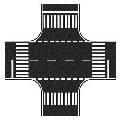 CRUCE DE CALLES (220 x 220 mm)