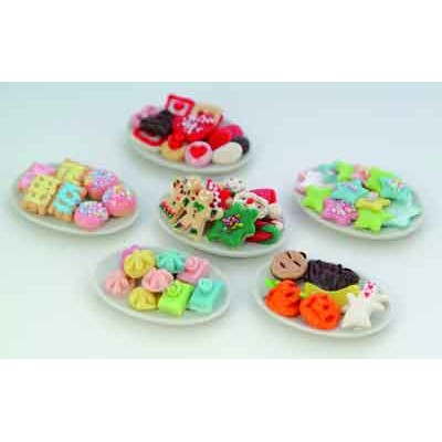 Plato con dulces unidad for Platos dulces