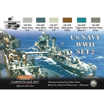 SET PINTURAS U.S. NAVY Nº2 - LifeColor CS25
