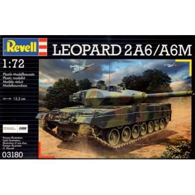 CARRO DE COMBATE LEOPARD 2 A6 / A6M -1/72- Revell 03180