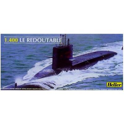 SUBMARINO REDOUTABLE 1/400