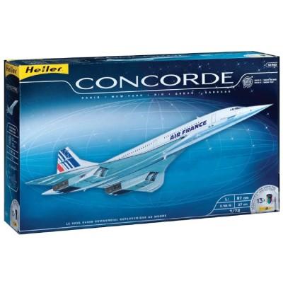BAC / AEROSPATIALES CONCORDE 1/72 (Pegamento y Pinturas)
