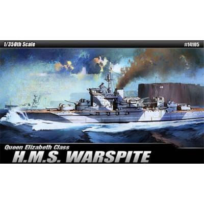 ACORAZADO H.M.S. WARSPITE 1/350 - Academy 14105