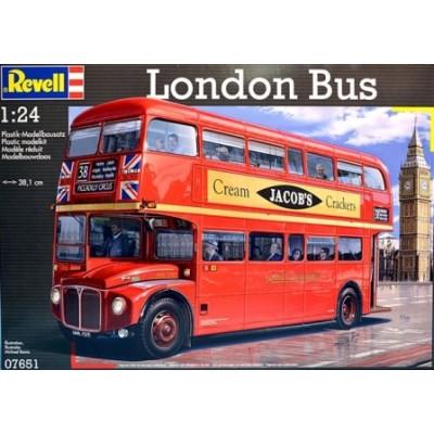 AUTOBUS AEC ROUTEMASTER LONDRES ESCALA 1/24 REVELL 07651