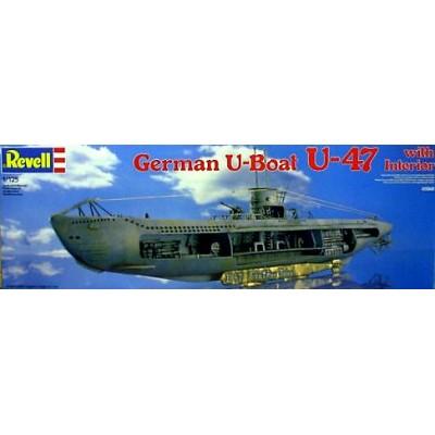SUBMARINO U-47 G.PRIEN 1/125