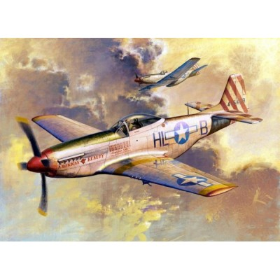 NORTH AMERICAN P-51 D MUSTANG -1/32- Trumpeter 02275