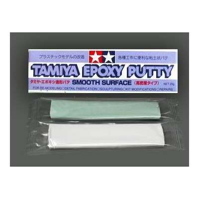 MASILLA EPOXY PUTY - Smooth Surface- (25 gr) - Tamiya 87052