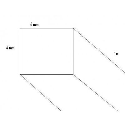 LISTON PINO (4 x 4 x 1.000 mm)