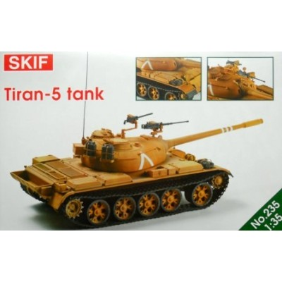 CARRO DE COMBATE TIRAN-5 (T-55) Israel -1/35- Skif MK235