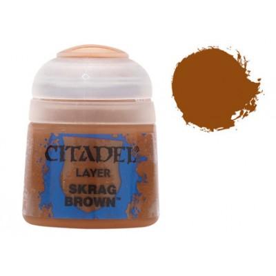 PINTURA ACRILICA LAYER SKRAG BROWN (12 ml)