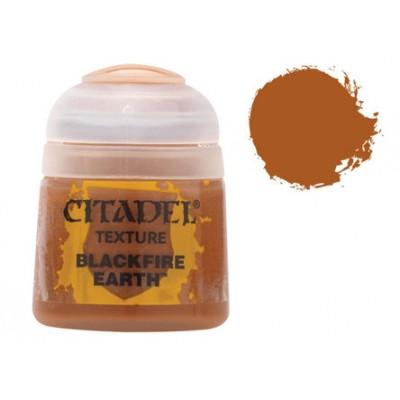 PINTURA ACRILICA TEXTURA BLACKFIRE EARTH (12 ml)