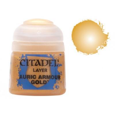 PINTURA ACRLICIA AURIC ARMOUR GOLD (12 ml)