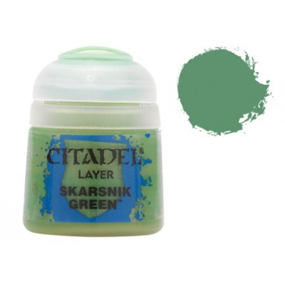 PINTURA ACRILICA LAYER SKARSNIK GREEN (12 ml)