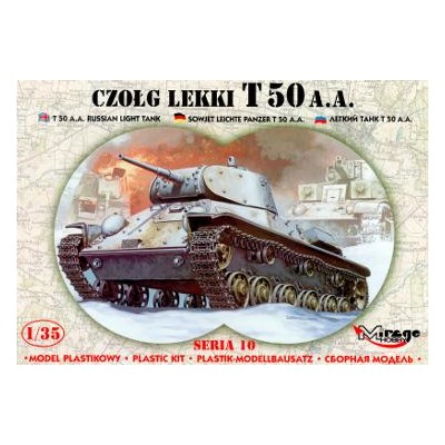 CARRO DE COMBATE T-50 1/35 - Mirage Hobby 35106
