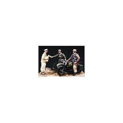 TRIPULACION MOTOCICLETA, BRIGADA RAMCKE