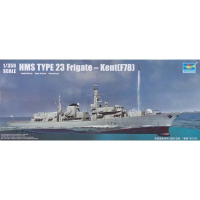 FRAGATA TIPO 23 H.M.S. KENT (F78) - Trumpeter 04544