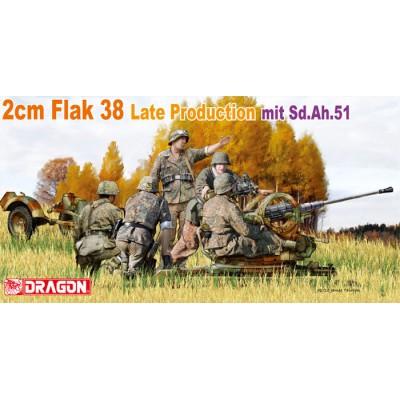 CAÑON ANTIAEREO FLAK 38 (20 mm)