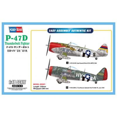 REPUBLIC P-47 D THUNDERBOLT -1/48- Hobby Boss 85804