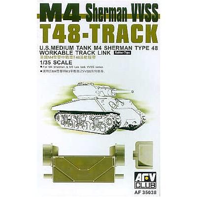 SET ORUGA T48 CARRO M-4 SHERMAN VVSS