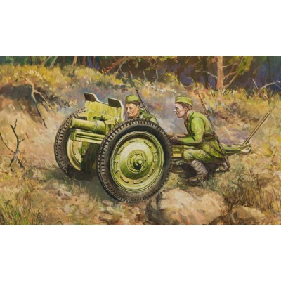 OBUS (76 mm) SOVIETICO 1/72