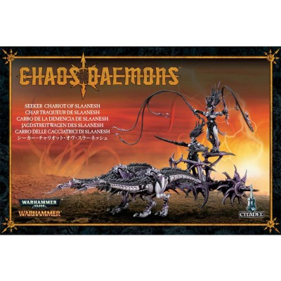 .DEMON. CARRO DE LA DEMENCIA SLAANESH