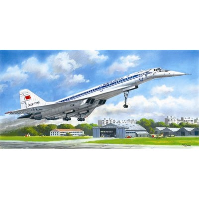 TUPOLEV TU-144 D 1/144