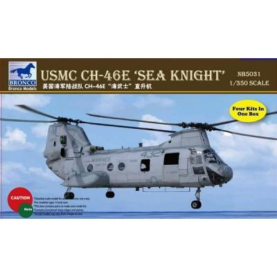 BOEING VERTOL CH-46 E SEA KNIGHT (4 unidades) 1/350
