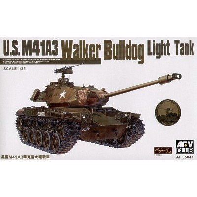 CARRO DE COMBATE M-41 A3 WALKER-BULLDOG 1/35