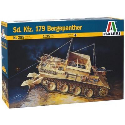 CARRO DE RECUPERACION SD.KFZ.179 BERGEPANTHER - Italeri 285