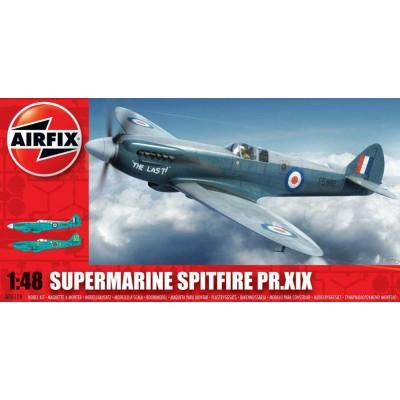SUPERMARINE SPITFIRE PR. XIX 1/48 - Airfix A05119