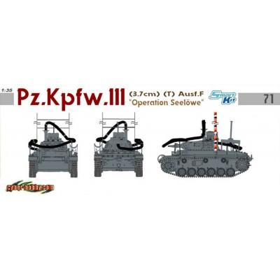 CARRO DE COMBATE SD.KFZ. 141 PANZER III (T) Ausf. F  SEELÖWE