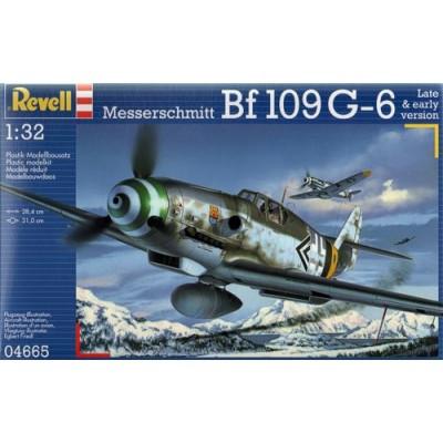 MESSERSCHIMITT Bf-109 G6 -1/32- Revell 04665