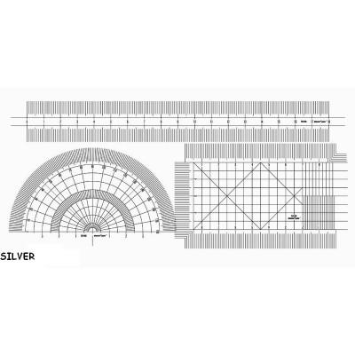 SET REGLAS FLEXIBLES 0,05 mm