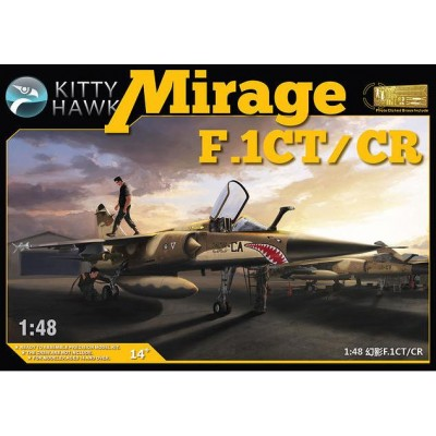 DASSAULT MIRAGE F.1 C / CT / CR C/ Esp -1/48- Kitty Hawk KH80111