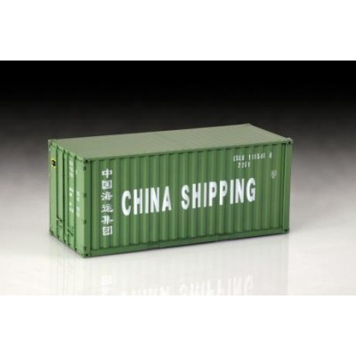 CONTENEDOR 20 PIES CHINA SHIPPING ESCALA 1/24