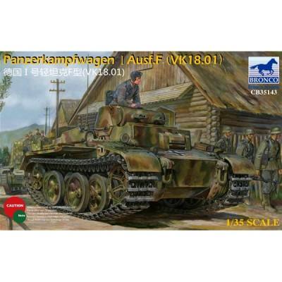 CARRO DE COMBATE PANZER I Ausf. F (VK18.01)