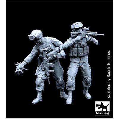 SET SOLDADOS U.S. ARMY (Exploradores Y Robot XT)