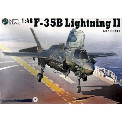 LOCKHEED MARTIN F-35 B LIGHTNING II -1/48- Kitty Hawk KH80102