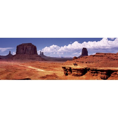 PUZZLE 1000 PZS PANORAMA MONUMENT VALLEY (960 X 340 MM)