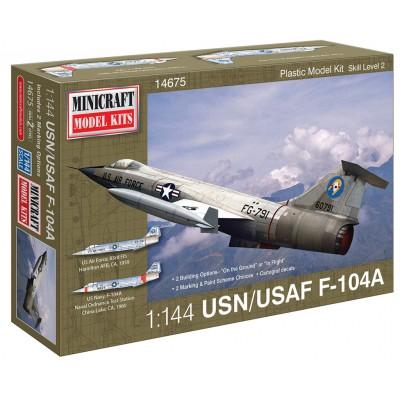 LOCKHEED F-104 A STARFIGHTER (U.S. NAVY - U.S.A.F.)