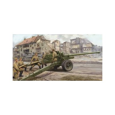 CAÑON ANTICARRO BS-3 M1944 (100 mm) - Trumpeter 02331