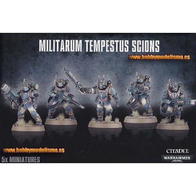 .G.I.MILITARUM TEMPESTUS SCIONS