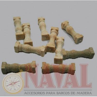 COLUMNAS BOJ 15 mm (10 unidades)