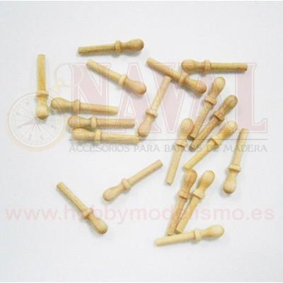 CABILLA DE BOJ 6 mm (20 unidades)